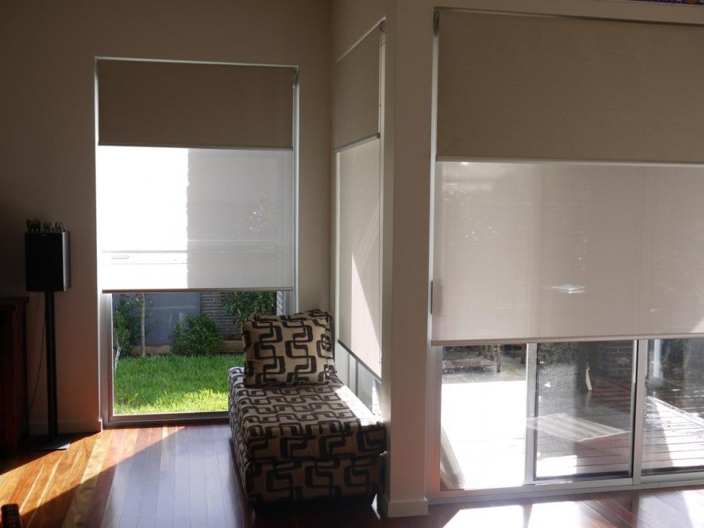 double roller blinds 3 sets blinds
