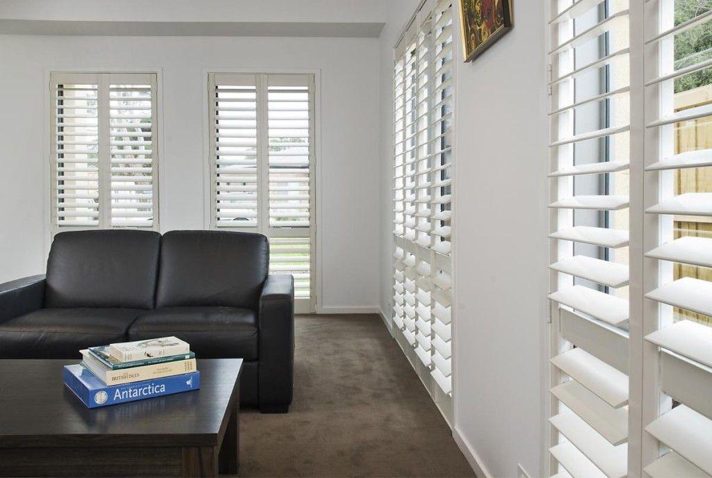 Plantation shutters melbourne pvc window timber for Alternative to plantation shutters